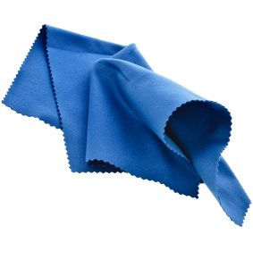 Value Hearing recommends you regularly wash your microfibre cleaning cloth to help clean your hearing aids