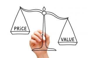 You need to weigh up price vs value on your hearing aid purchase.