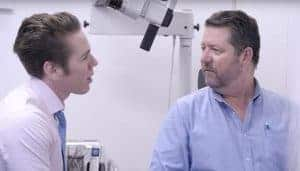 An audiologist with a good bedside manner is a great start