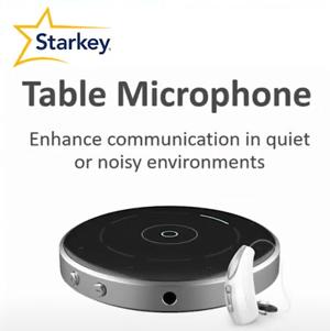 Starkey Table Mic